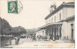 ALES - ALAIS - La Gare Des Voyageurs - Alès