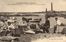 50 Gatteville. Port De Roubary Et  Phare - France