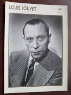 LOUIS JOUVET ( Photo Koball Collection / Edito Service S.A./ Format 13 X 18 Cm. Zie Foto´s Voor Details ) ! - Autres Collections