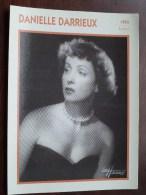 DANIELLE DARRIEUX ( Photo Koball Collection / Edito Service S.A./ Format 13 X 18 Cm. Zie Foto´s Voor Details ) ! - Autres