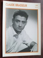 CLAUDE BRASSEUR ( Photo Koball Collection / Edito Service S.A./ Format 13 X 18 Cm. Zie Foto´s Voor Details ) ! - Autres Collections