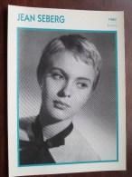 JEAN SEBERG ( Photo Koball Collection / Edito Service S.A./ Format 13 X 18 Cm. Zie Foto´s Voor Details ) ! - Autres