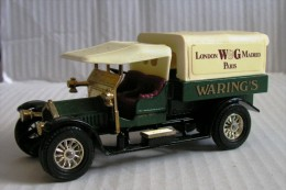 - Crossley Waring's - 1918 - Matchbox Y-13/Y-26 - 1973 - 1:47 - Matchbox