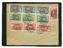 Deutsches Reich Memel Brief 1923