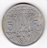 REUNION - 1955 - 5 FR - Réunion