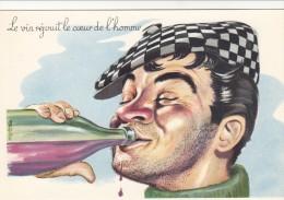 """CARRIERE  Louis """" Le Vin Réjouit  Le Cœur  De L'homme"""" - Carrière, Louis"""