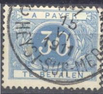 4Gv-759: N° TX7: G16: C HEYST-AAN-ZEE C HEYST-SUR-MER - Timbres
