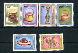 1996-BURKINA FASO- ARTISANAT-RARE STAMPS-LUXE