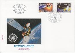 Europa Cept 1991 Yugoslavia 2v  FDC (F865) - 1991