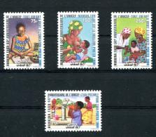 1996-BURKINA FASO- UNICEF-RARE STAMPS-LUXE