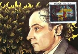 Jean Picart Le Doux - Hommage à Jean-Sébastien Bach  -  Yv 2107   Carte Maximum - Maximum Cards