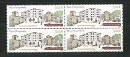 Place D'Engordany, Paroisse Des Escaldes-Engordany (Sîte Architectural). Un Bloc De 4 Neuf ** 2014 - Andorre Français