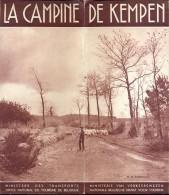 Brochure  Dépliant Tourisme Toerisme - La Campine - De Kempen  1939 - Non Classés