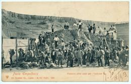 PORTO EMPEDOCLE (AG) PESATURA DELLO ZOLFO PER L'IMBARCO 1903 - Agrigento