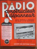 La Radio Constructeur Depanneur  1951  8  Numeros 66 67 68  70 71  73  74 - Télévision