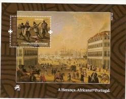Portugal ** & A Herança Africana Em Portugal, Pintura De Joaquim Marques,  1789,  2009 - Blocks & Sheetlets