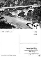CAVARGNA(como) Il Nuovo E Il Vecchio Ponte Del Saltone ANIMATA FIAT 500(D-L 025) - Como