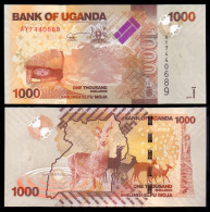UGANDA 1000 SHILLINGS 2010 PICK 49 SC UNC - Uganda