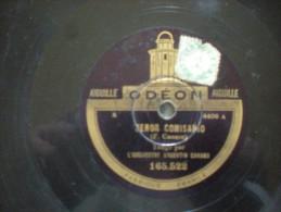 ODEON TANGO ARGENTIN F CANARO SENOR COMISARIO + HE VISTO EN TUS OJOS - 78 Rpm - Schellackplatten