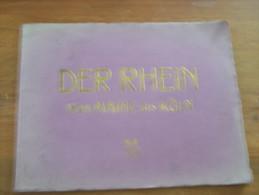 DER RHEIN VON MAINZ BIS KÖLN 24 ANSICHTEN IN FEINSTEN KUPFERTIEFDRUCK MIT BESCHREIBUNG IN MEHREREN SPRACHEN  BREMER & CO - Allemagne (général)