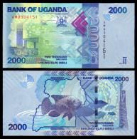 UGANDA 2000 SHILLINGS 2010 PICK 50 SC UNC - Uganda