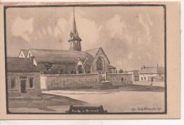 Nr.  1851 ,  Feldpostkarte 1914-18 ,  Kirche In  Brimont - Guerre 1914-18