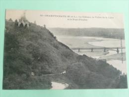 CHAMPTOCEAUX - Le Chateau, La Vallée De La Loire Et Le Pont D'OUDON - Champtoceaux