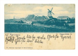 B82463 Denmark Sonderburg Sonderborg Duppen Muhle Mill Front Back Image - Danemark