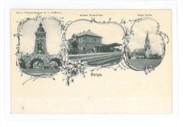 B82445 Germany Berga Railway 1910 Thuringia  Perfect Shape - Greiz