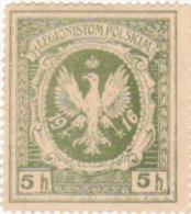 ERINNOFILO VIGNRTTA CINDERELLA - LEGIONISTOM POLSKIN - 1916 - Erinnofilia