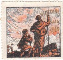 1916 VICTOIRE PAIX - VITTORIA PACE - Cinderellas