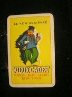 Playcard/Dos De Carte A Jouer(1 Cartes Avec Publicitè) Distillerie/ Le Bon  Genièvre: Vieux Cadet, Maison Libert-Ougrée - Speelkaarten