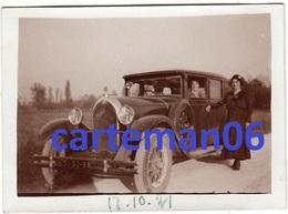 Automobile - Photo Originale -  Talbot 11 Six - Format 8.9 X 6.4.cm - Automobiles