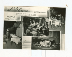 """ROMA,Ristorante """"AL GLICINE"""",vedute-1958 - Places & Squares"""