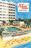 Vintage Atlantic Towers Hotel, Miami Beach, Florida