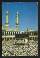 Saudi Arabia  Picture Postcard Holy Mosque Ka´aba Macca  AS PER SCAN - Saoedi-Arabië