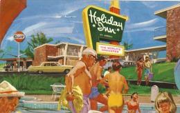 Vintage Holiday Inn Ashland, Virginia & Gulf Gas Station