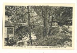 Cp, 38, Grande-Chartreuse, Anciennes Forges Des Chartreux établies En 1650 - Chartreuse