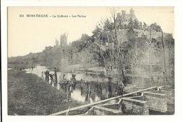 Cp, 49, Murs-Erigné, Le Château, Les Portes - France