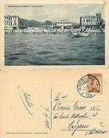 Albissola Marina - La Spiaggia ANIMATA CON BARCA (S-L 019) - Savona