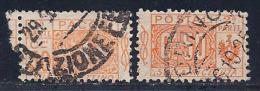 Italy, Scott # Q11 Used Parcel Post, Part 1 & Part 2, 1914 - 1900-44 Vittorio Emanuele III