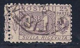 Italy, Scott # Q12 Used Parcel Post, Part 2, 1914 - 1900-44 Vittorio Emanuele III