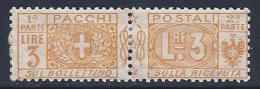 Italy, Scott # Q14 Mint Hinged Parcel Post, 1914 - 1900-44 Vittorio Emanuele III