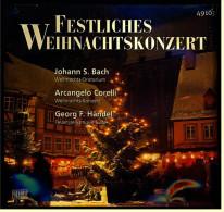 CD -  Festliches Weihnachtskonzert - Johann Sebastian Bach : Weihnachts-Oratorium , Arcangelo Corelli - Christmas Carols