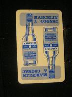 Playcard / Dos De Carte A Jouer(1 Cartes Avec Publicitè), Marcelin&Fils, France - Spiritueux - Cognac - Ohne Zuordnung
