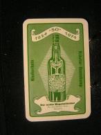"""Playcard/Dos De Carte A Jouer-1 Cartes Avec Publicitè,Der Echte Magenstimmer, Kräuter-Boonekamp,Weywertz 1924 """"50"""" 1974 - Cartes à Jouer"""
