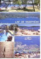 Lac De Vassiviere Limousin Multivues Plage Village Magrangeas Auphelle Aérienne Petit Train De L'ile - Debaisieux - Autres Communes