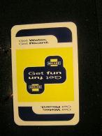1 Dos De Carte à Jouer / Playcard / Publicitè Au Dos / Liqueurs-Spiritueux, Richard  Get Water, Get Fun - Cartes à Jouer