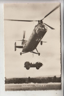 MILITÄR - FLUGZEUGE - Bundeswehr Hubschrauber VERTOL  H 21 - Ausrüstung