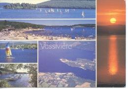 Lac De Vassiviere Limousin Multivues Generale Auphelle Vauveix Broussas N°23/05 Debaisieux - Autres Communes